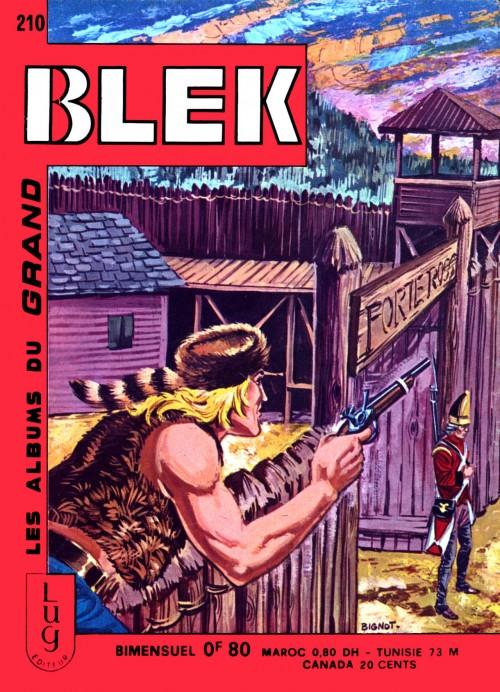 Couverture de Blek (Les albums du Grand) -210- Numéro 210
