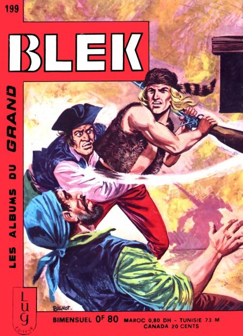 Couverture de Blek (Les albums du Grand) -199- Numéro 199