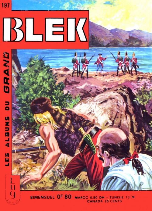 Couverture de Blek (Les albums du Grand) -197- Numéro 197