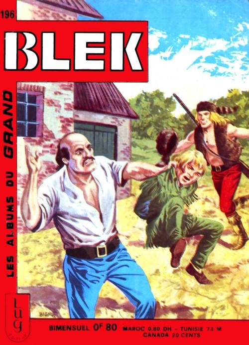 Couverture de Blek (Les albums du Grand) -196- Numéro 196