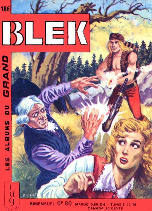 Couverture de Blek (Les albums du Grand) -186- Numéro 186