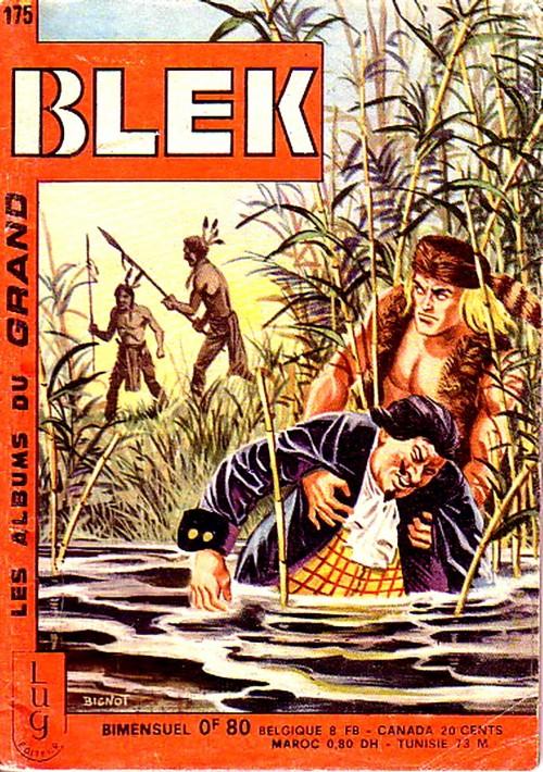 Couverture de Blek (Les albums du Grand) -175- Numéro 175