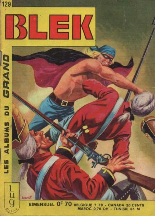 Couverture de Blek (Les albums du Grand) -129- Numéro 129