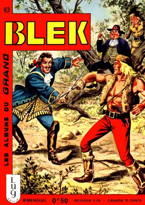 Couverture de Blek (Les albums du Grand) -83- Numéro 83