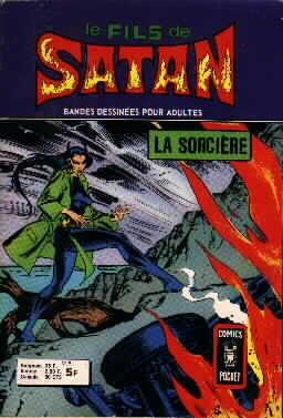 Couverture de Le fils de Satan -9- La sorcière