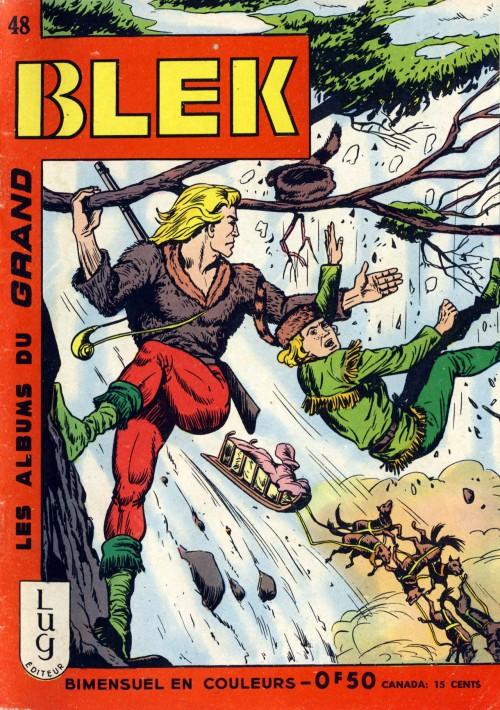 Couverture de Blek (Les albums du Grand) -48- Numéro 48
