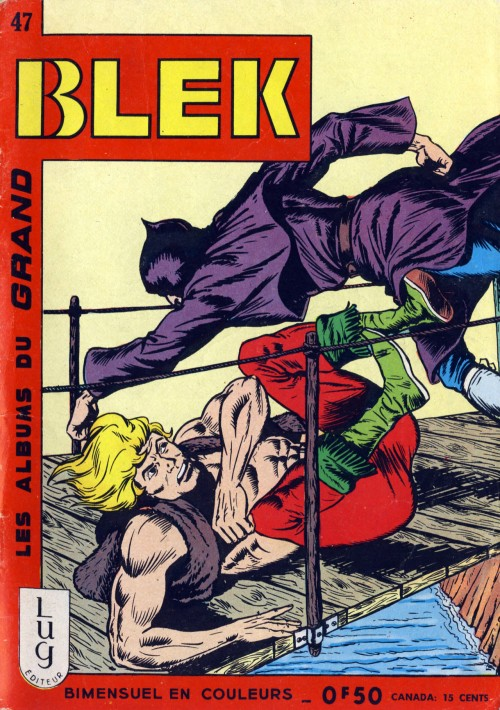 Couverture de Blek (Les albums du Grand) -47- Numéro 47
