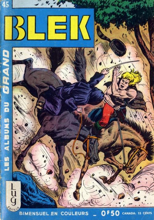 Couverture de Blek (Les albums du Grand) -45- Numéro 45