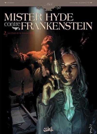 Mister Hyde contre Frankenstein Re-Up 2 tomes