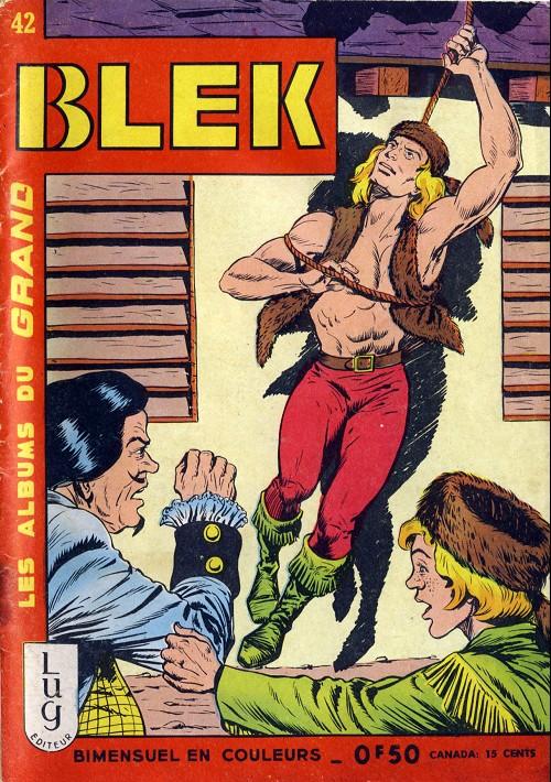 Couverture de Blek (Les albums du Grand) -42- Numéro 42