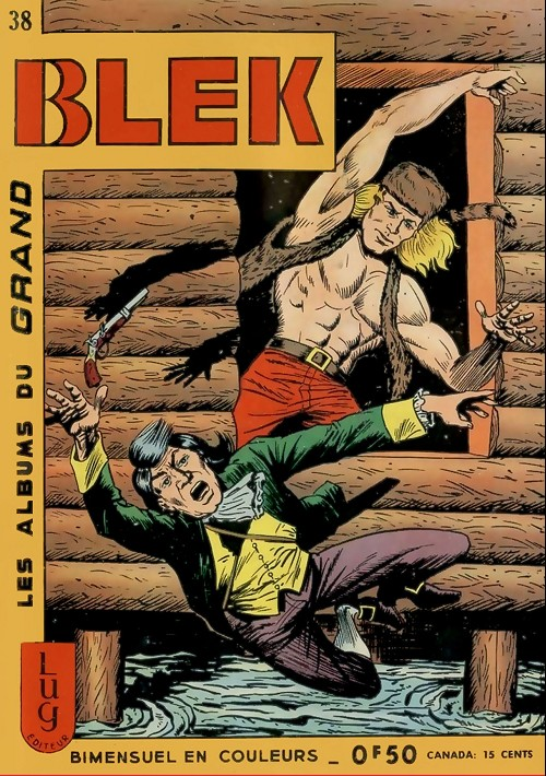 Couverture de Blek (Les albums du Grand) -38- Numéro 38