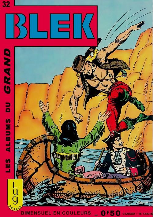 Couverture de Blek (Les albums du Grand) -32- Numéro 32
