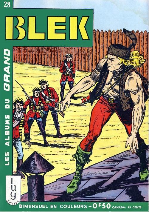 Couverture de Blek (Les albums du Grand) -28- Numéro 28