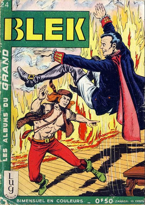 Couverture de Blek (Les albums du Grand) -24- Numéro 24