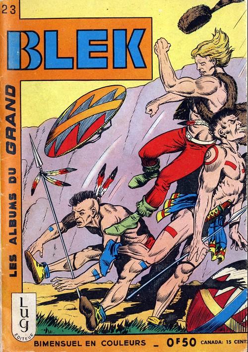 Couverture de Blek (Les albums du Grand) -23- Numéro 23