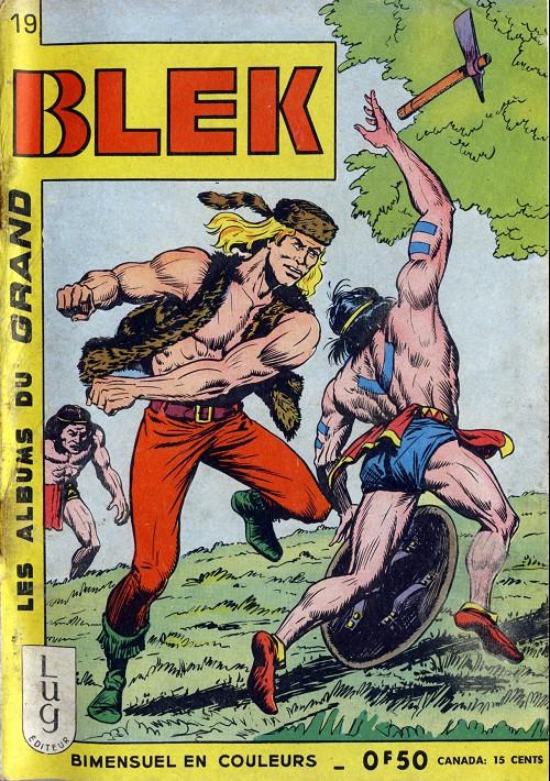Couverture de Blek (Les albums du Grand) -19- Numéro 19