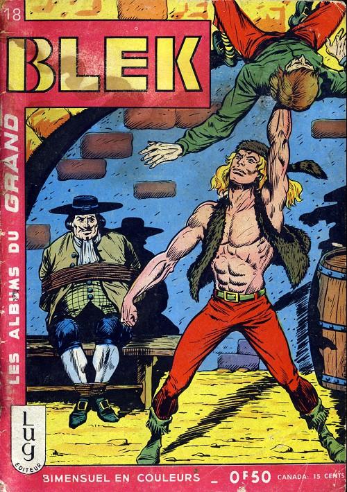 Couverture de Blek (Les albums du Grand) -18- Numéro 18