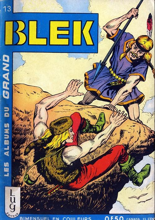 Couverture de Blek (Les albums du Grand) -13- Numéro 13