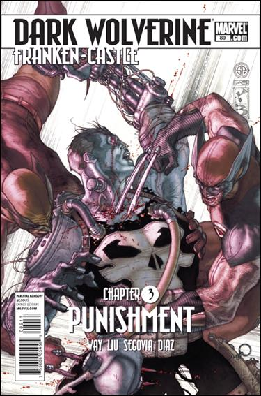 Couverture de Dark Wolverine (2009) -89- Punishement part 3