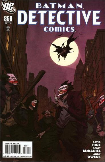 Couverture de Detective Comics (1937) -868- Impostors (Part 2) : The (s)laughter of fools