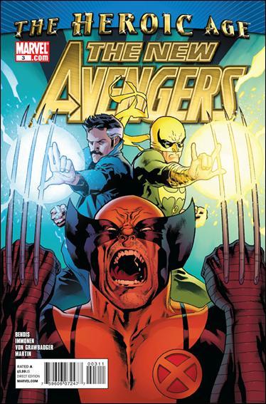 Couverture de New Avengers (The) (2010) -3- Possession part 3
