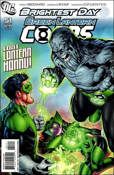 Couverture de Green Lantern Corps (2006) -51- Revolt of the alpha-lanterns part 4
