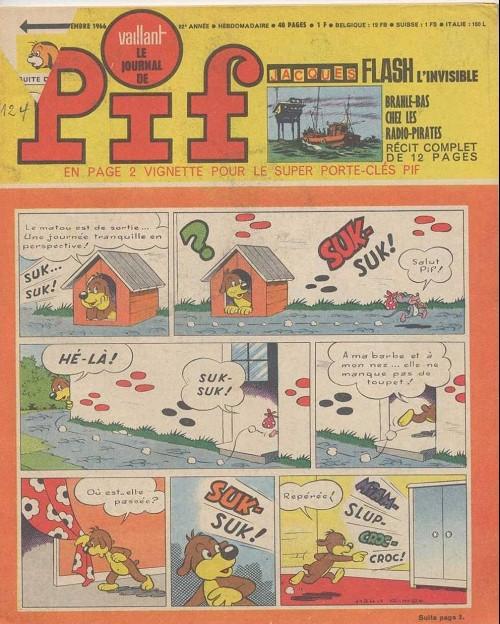 Couverture de Vaillant (le journal le plus captivant) -1124- Vaillant