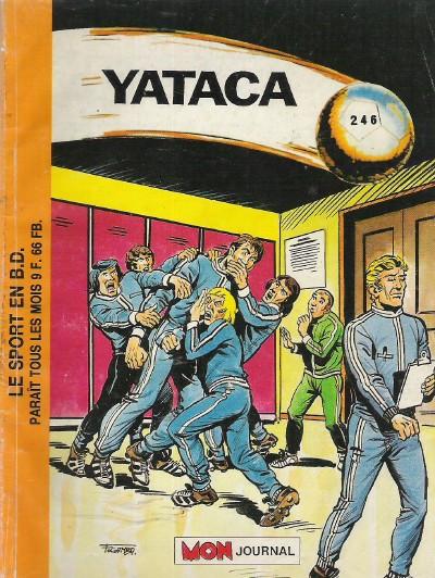 Couverture de Yataca (Fils-du-Soleil) -246- Le retour de Johnny Dexter