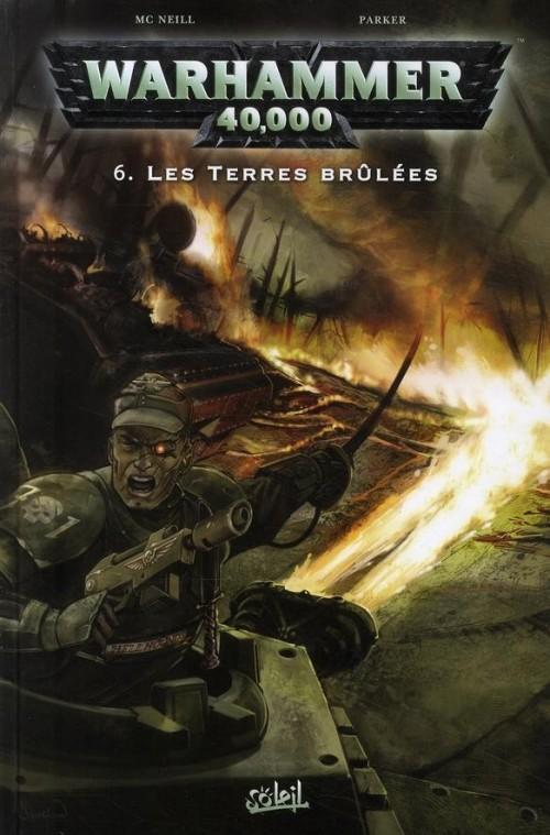 Couverture de Warhammer 40,000 (1re série - 2008) -6- Les Terres brûlées