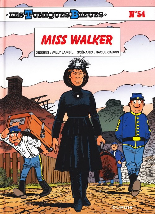 Couverture de Les tuniques Bleues -54- Miss Walker