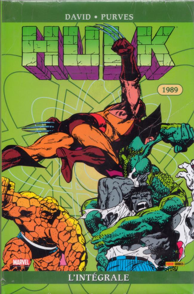 Couverture de Hulk (L'intégrale) -4- Hulk : l'intégrale 1989