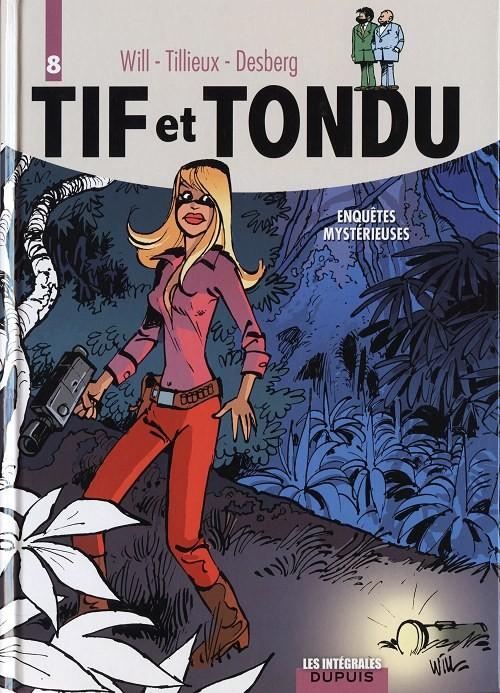 Couverture de Tif et Tondu (Intégrale) -8- Enquêtes mystérieuses