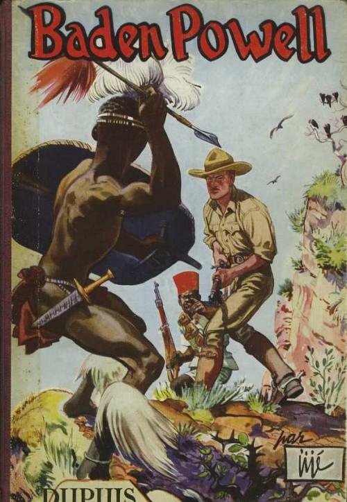 Couverture de Baden Powell (Jijé) - Baden Powell
