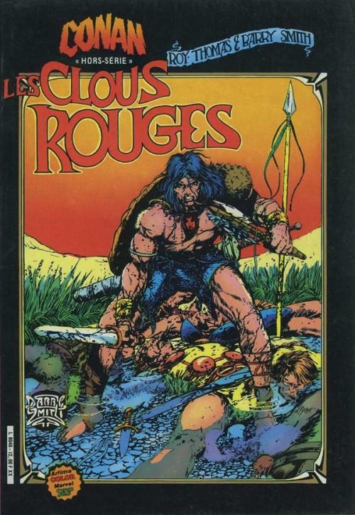 Couverture de Conan le barbare (1re série - Aredit - Artima Marvel Color) -HS1- Les clous rouges