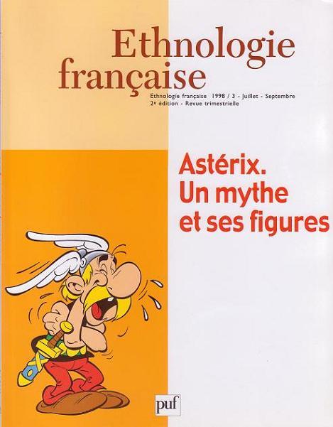 Couverture de Astérix (Autres) -32- Astérix. Un mythe et ses figures