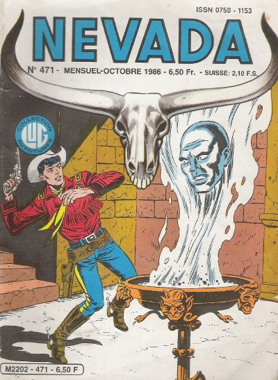 Couverture de Nevada (LUG) -471- Numéro 471