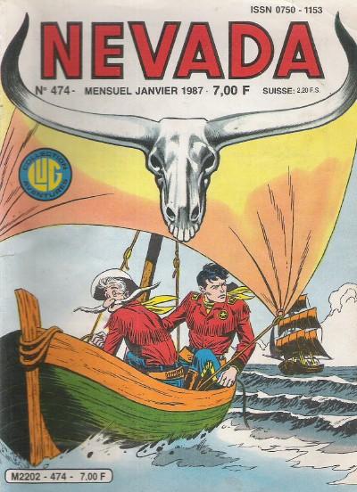 Couverture de Nevada (LUG) -474- Numéro 474