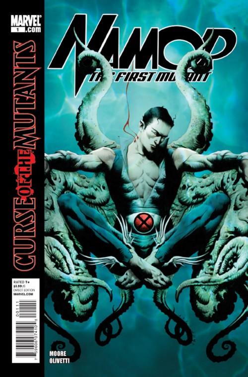 Couverture de Namor: The First Mutant (2010) -1- Royal blood (Part 1)