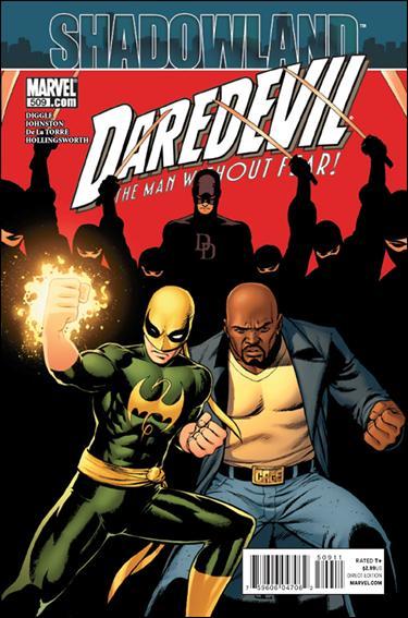 Couverture de Daredevil (1964) -509- Shadowland part 2