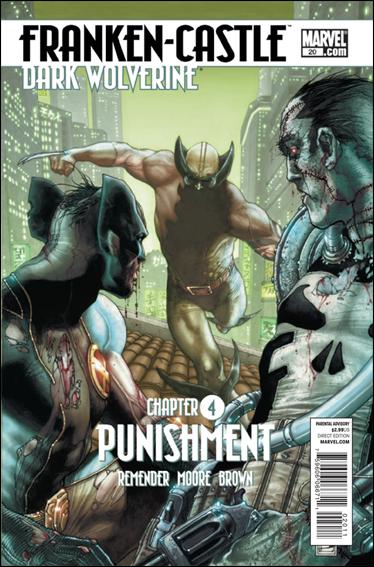Couverture de Punisher Vol.08 (Marvel comics - 2009) (The) -20- Punishement part 4