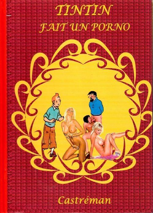 Couverture de Tintin - Pastiches, parodies & pirates -PIR- Tintin fait un porno