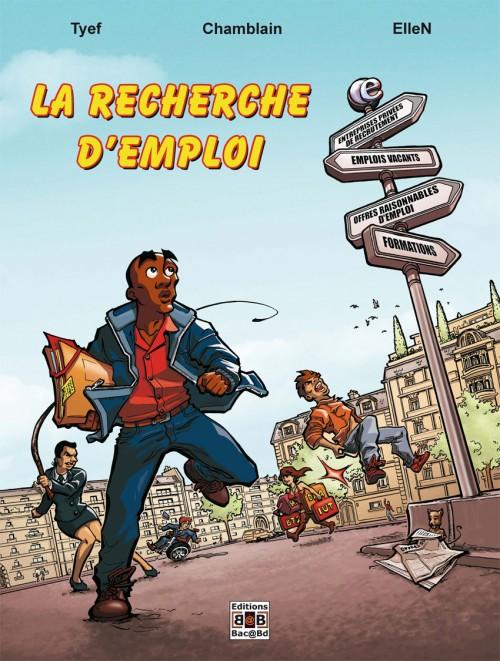 Couverture de Ciboulot -2- La recherche d'emploi