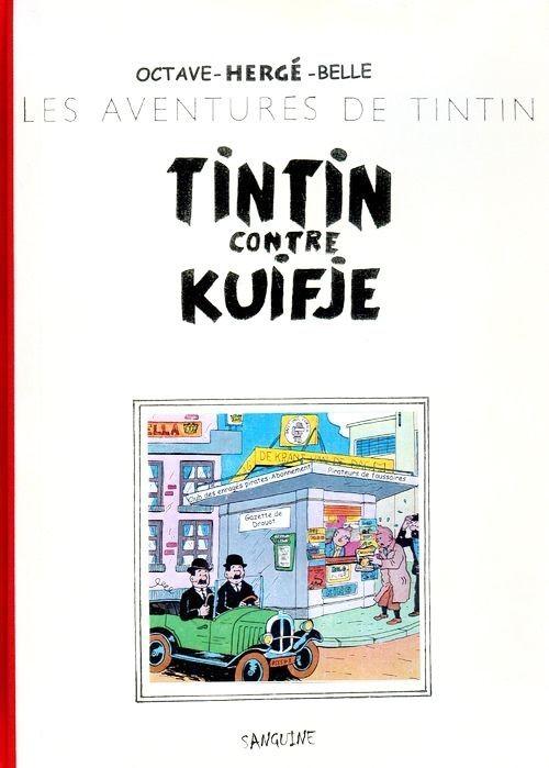 Couverture de Tintin - Pastiches, parodies & pirates -PIR- Tintin contre Kuifje