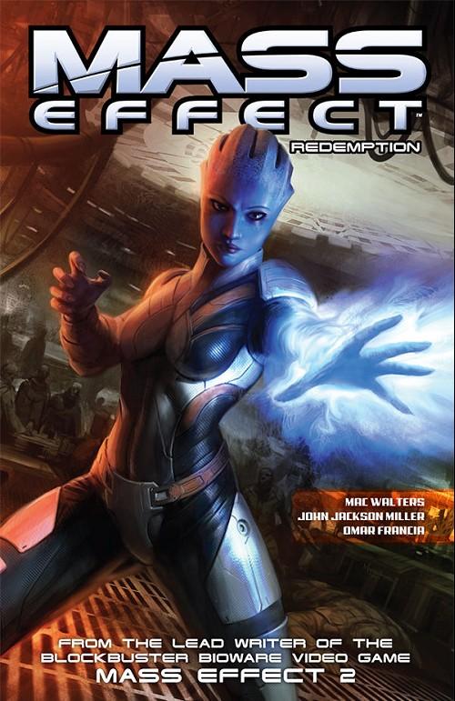 Couverture de Mass Effect: Redemption (2010) -INT- Mass Effect Redemption