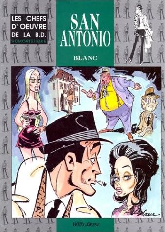 Couverture de San-Antonio (Les Aventures du Commissaire) -HS- San Antonio