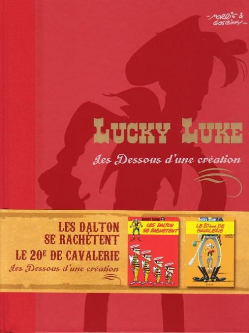 Couverture de Lucky Luke - Les Dessous d'une création (Atlas) -12- Les Dalton se rachètent / Le XXe de cavalerie
