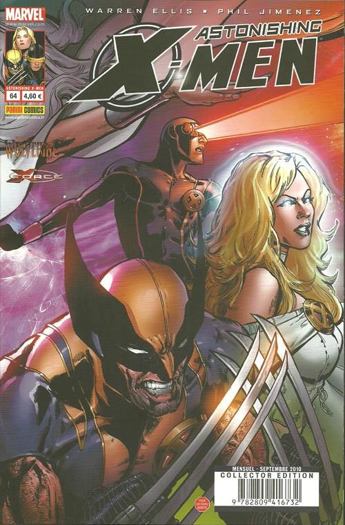 Couverture de Astonishing X-Men (kiosque) -64- Exogénétique