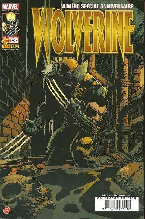 Couverture de Wolverine (Marvel France 1re série) (1997) -200- Le meilleur dans sa partie