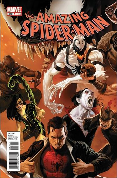 Couverture de Amazing Spider-Man (The) Vol.2 (Marvel comics - 1999) -642- Origin of the species part 1