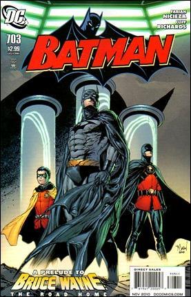 Couverture de Batman Vol.1 (DC Comics - 1940) -703- The great escape